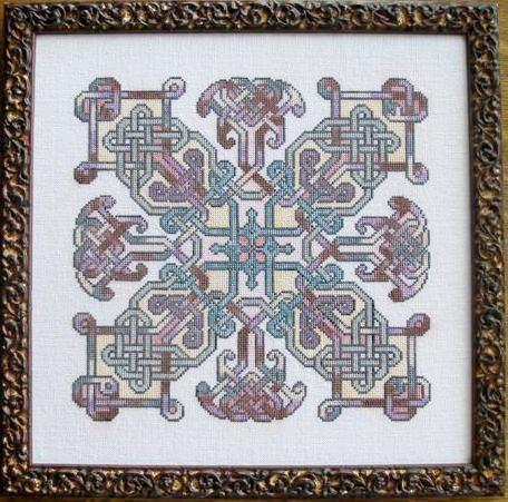 Ink Circles Peregrination Celtic Cross Stitch Pattern