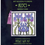Textile Heritage Irises Needle Case Cross Stitch Kit