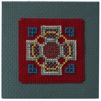 Textile Heritage Celtic Cross Keepsake -  Cross Stitch Kit