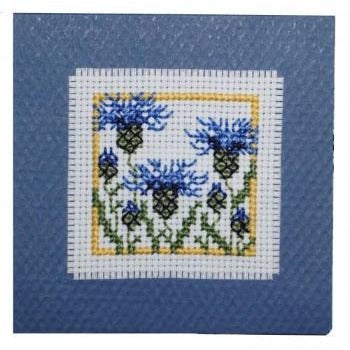 Textile Heritage Cornflowers Keepsake Cross Stitch Kit
