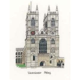 Heritage Crafts Westminster Abbey Cross Stitch Pattern