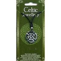 Celtic Knot Design 4 Pewter Pendant