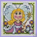 Textile Heritage Fairy Miniature Cross Stitch Kit