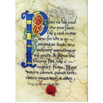 Celtic Card Company Song of Songs VIII:VI & VII Greeting Card