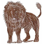 Brass Rubbing Kit Lion