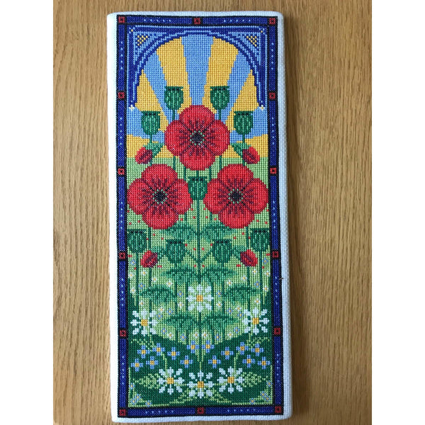 Long Poppy Cross Stitch Pattern
