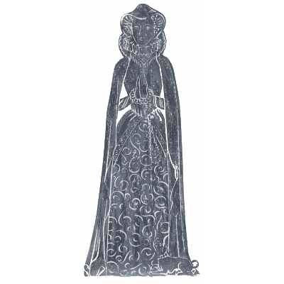 Brass Rubbing Kit Mary Queen of Scots
