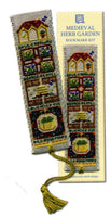 Textile Heritage Medieval Herb Garden Bookmark Cross Stitch Kit