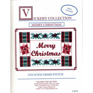 Vickery Collection Merry Christmas- Cross Stitch Pattern