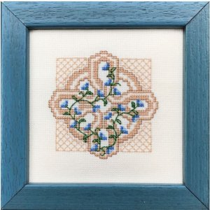 Claddagh Cross Stitch - Morning Glory Cross  - Cross Stitch Pattern