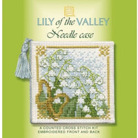Textile Heritage Lily of the Valley Needle Case Cross Stitch Kit