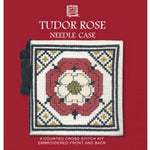 Textile Heritage Tudor Rose Needle Case Cross Stitch Kit