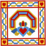 NVP Claddagh Cross Stitch Pattern