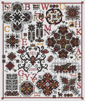Long Dog Samplers Pigalle Cross Stitch Pattern