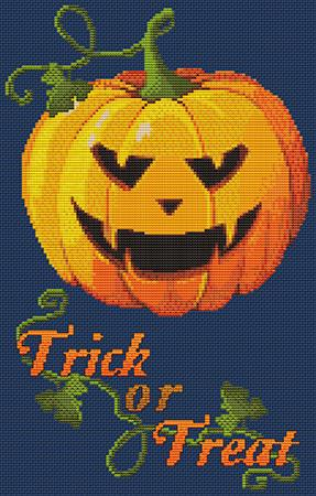 Artists Alley Pumpkin Bites Cross Stitch Pattern