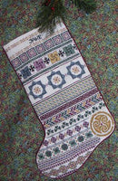 Rosewood Manor Celtic Stocking Cross Stitch Pattern