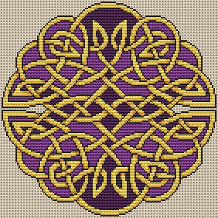 Artists Alley Royal Knot Cross Stitch Pattern