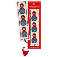 Textile Heritage Russian Dolls Bookmark Cross Stitch Kit