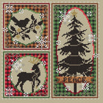 Shannon Christine Designs Rustic Christmas Cross Stitch Pattern