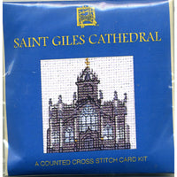 Saint Giles Cathedral Miniature Card Cross Stitch Kit