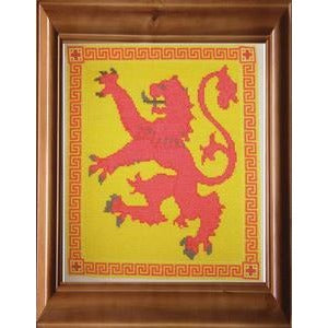Celtic Obsessions Scottish Lion Cross Stitch Pattern