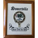 Scottish Clan Badge & Motto Cross Stitch Pattern