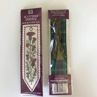 Textile Heritage Scottish Thistle Bookmark Cross Stitch Kit