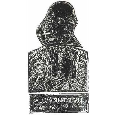 Brass Rubbing Kit William Shakespeare