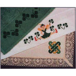 Three Irish Shamrock Borders Cross Stitch Pattern