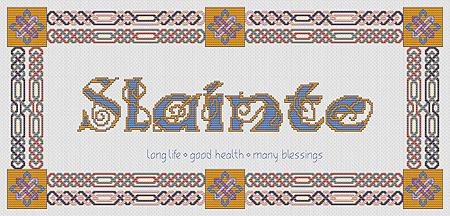 Artists Alley Slainte -  Cross Stitch Pattern