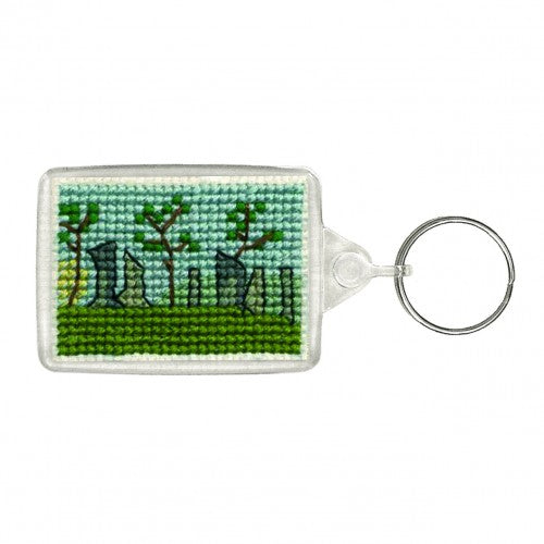 Textile Heritage Standing Stones Keyring Cross Stitch Kit