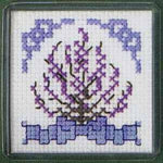 Textile Heritage Heather Magnet Cross Stitch Kit