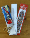 Textile Heritage Stained Glass Window Bookmark Cross Stitch Kit