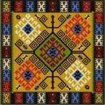Landmark Tapestries & Charts Tapesta Shatakh Cross Stitch Pattern