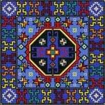 Landmark Tapestries & Charts Tapesta Moosh Cross Stitch Pattern