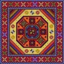 Landmark Tapestries & Charts Tapesta Kazakh Cross Stitch Pattern