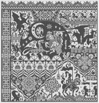 Long Dog Samplers The Templar Prophecy Cross Stitch Pattern