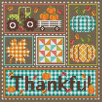 Shannon Christine Designs Thankful Cross Stitch Pattern