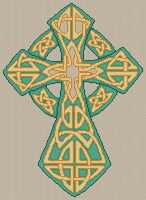 Artists Alley Traditional Celtic Cross -  Cross Stitch Pattern