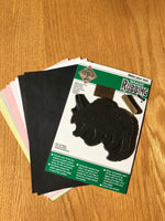 Example Contents Brass Rubbing Kit