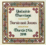 <p> </p> <p> </p> <p> </p> <p> </p> <p>Dinky Dyes Tying the Knot Wedding Sampler Cross Stitch Pattern