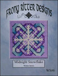 Frony Ritter Winter Series Midnight Snowflake Cross Stitch Pattern
