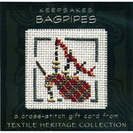 Textile Heritage Bagpipes Keepsake Cross Stitch Kit