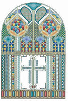 Vickery Collection Celtic Window - Cross Stitch Pattern