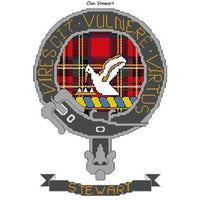 Clan Stewart Cross Stitch