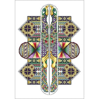 Vickery Collection The Labyrinth Pattern - Cross Stitch Pattern