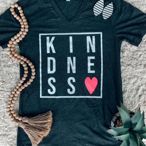 Kindness Tee (Short and Long Sleeve)-The Purple Pineapple Co.