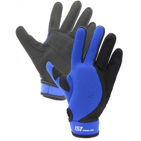 IST GL03 Blue Gloves
