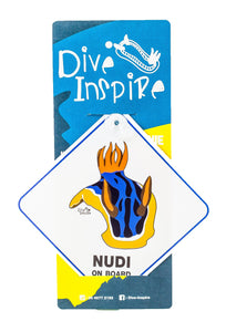 Dive Inspire Car Sign
