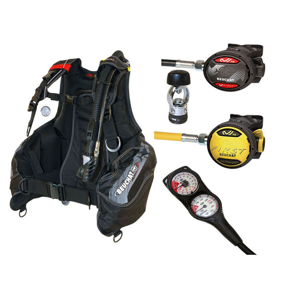 Beuchat BCD and Regulator Set